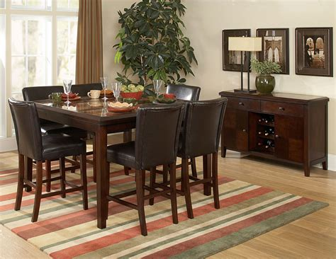 dining room cozy counter height dinette sets   dining furniture design ideas