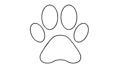 how to draw a paw drawing of paw how to draw a paw easy drawing arts sketch