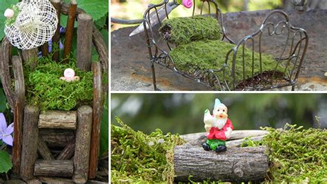 Garden Accessories And Decor Indulge In Creative Imagination With Miniature