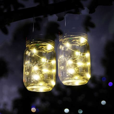 Jar Patio Lights by Best 25 Solar Jars Ideas On Jar