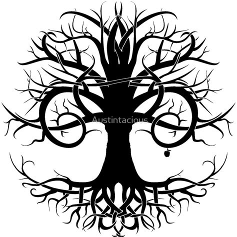 Tribal Live quot tree of tribal quot by austintacious redbubble