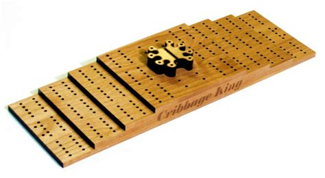 Hand Crafted Custom Cribbage Board With Laser Engraving by Frontiernow Engraving and Graphics