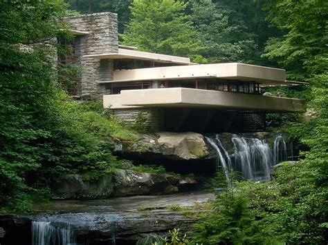 Cool Hoses by Frank Lloyd Wright Homes Frank Lloyd Wright Waterfall
