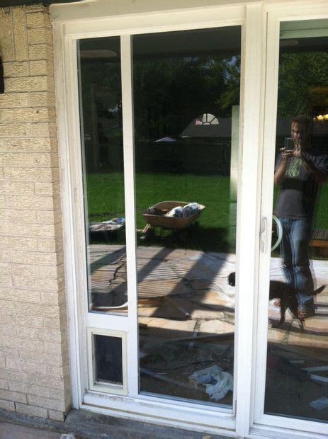 How To Install A Doggie Door by Door Installation Sliding Glass Door