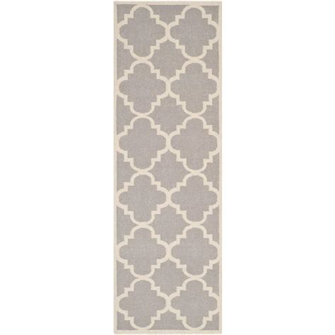 Pantofel Grey Ivory 2 blythe grey 2 ft 8 in x 8 ft runner rzbd16b 2808 the home depot