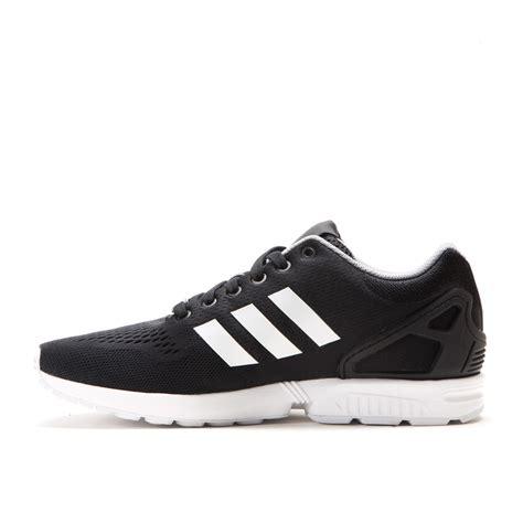 Adidas Running Black White adidas zx flux black running white b34510