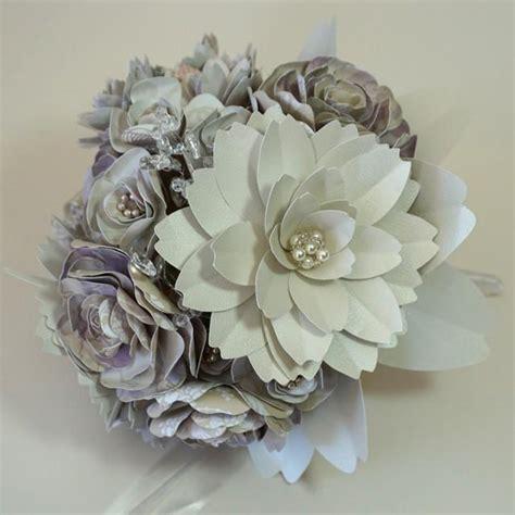 Handmade Flowers For Wedding - paper flower bouquet for wedding handmade flowers with