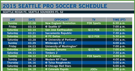 printable philadelphia union schedule image gallery sounders schedule 2015
