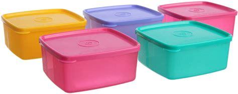 Small Fresh N Fancy 4 Pc Tupperware tupperware cool n fresh small 500 ml plastic grocery