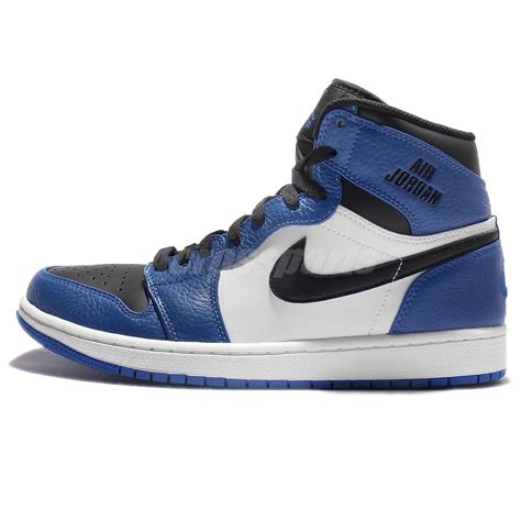 Jual Nike Air 1 Black nike air 1 retro high blue black basketball aj1 shoes 332550 400 ebay