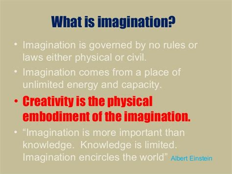 Power And Imagination the power of creativity and the imagination