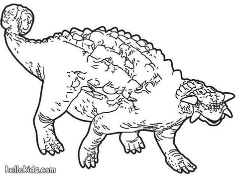 animal dinosaurs coloring pages prehistoric ankylosaurus coloring pages hellokids com