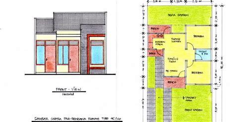 Desain Rumah 8 X 15 | desain rumah minimalis 2 lantai 9 x 15
