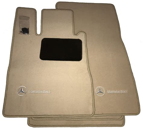 mercedes benz genuine oem carpeted floor mats s class 4matic 2003 to 2006 220 ebay