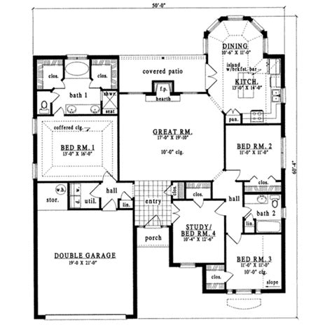 traditional plan 2 525 square feet 4 bedrooms 3 traditional style house plan 4 beds 2 baths 1843 sq ft