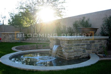 customize your outdoor space with decorative outdoor water