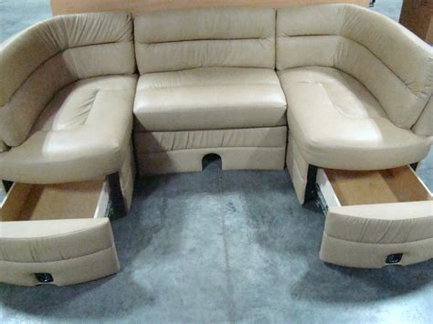 rv couches used rv furniture used rv motorhome cer furniture grand