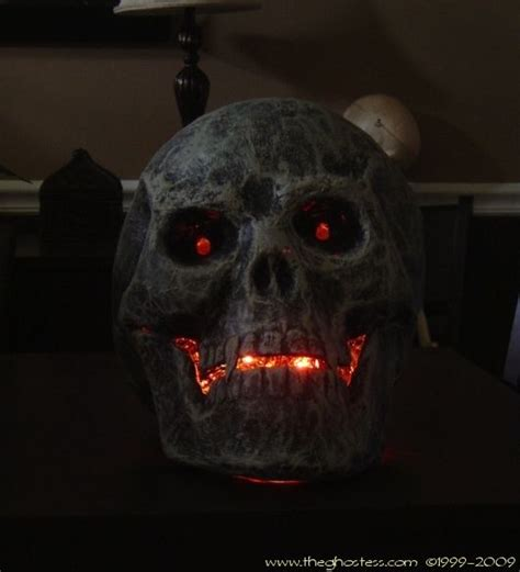 How To Make Paper Mache Skulls - paper mache and glue led skull