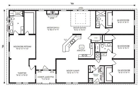 jacobsen mobile home floor plans the oak hill modular home floor plan jacobsen homes