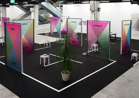 booth design definition great use of lines and color tradeshow exhibit design