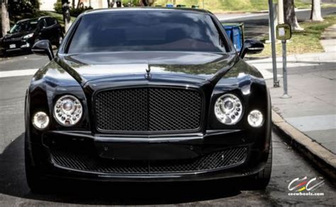bentley mulsanne blacked out purchase used 2013 bentley mulsanne blacked out with 22
