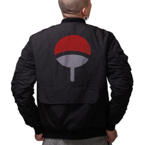 uchiha bomber jacket limited edition eternal geeks
