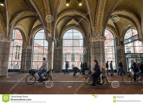 amsterdam museum free entrance amsterdam netherlands may 6 2015 people at main