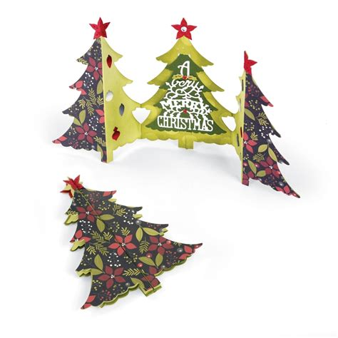 sizzix winter wishes collection christmas thinlits