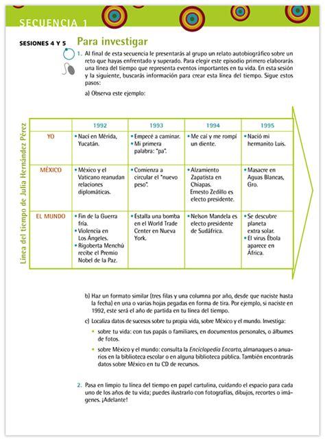 libro la lnea del tiempo espa 241 ol libro para el maestro telesecundaria primer grado volumen i