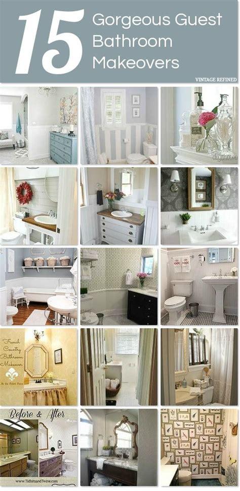 vintage refined bathroom makeovers