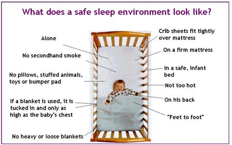 is it safe for baby to sleep in swing how to keep your infant safe in their crib chla