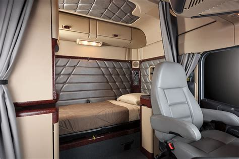most comfortable semi truck what makes freightliner trucks the most comfortable heavy