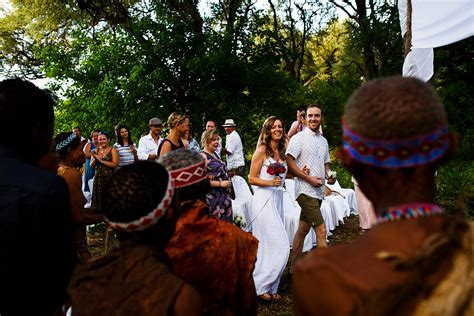 Charlotte & Rob: the epic Botswana bushman wedding in