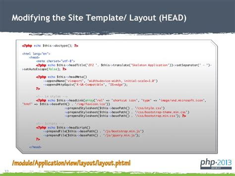 layout in zend framework 2 zend framework 2 for newbies