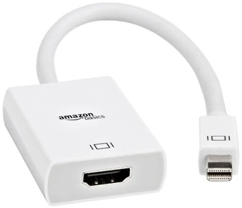 Amazonbasics Thunderbolt amazonbasics mini displayport thunderbolt to hdmi adapter b00nh13k8s price tracker