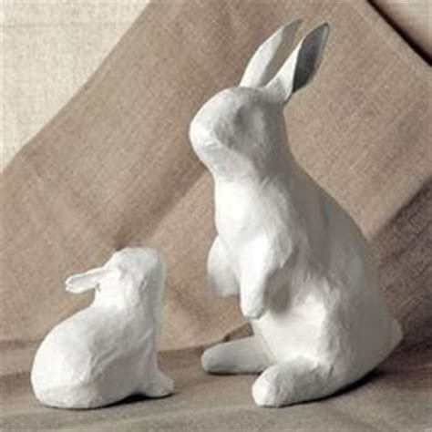 How To Make Paper Mache Rabbit - 1000 images about paper mache on paper mache