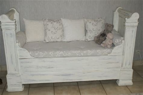 canapé lit ancien un lit de coin transform 233 en canap 233 de gigibees24