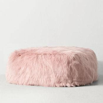 blush pink fur chair kashmir faux fur bean bag products bookmarks design