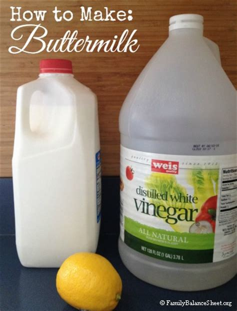 how to make buttermilk family balance sheet