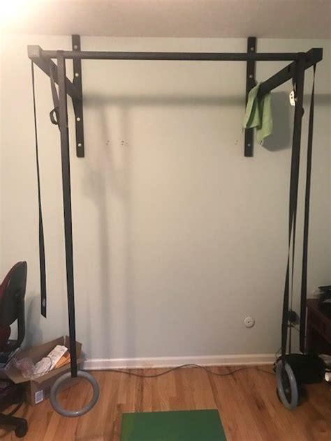 stud bar ceiling  wall mounted pull  bar