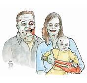 Sam Flegal Zombie Family Color