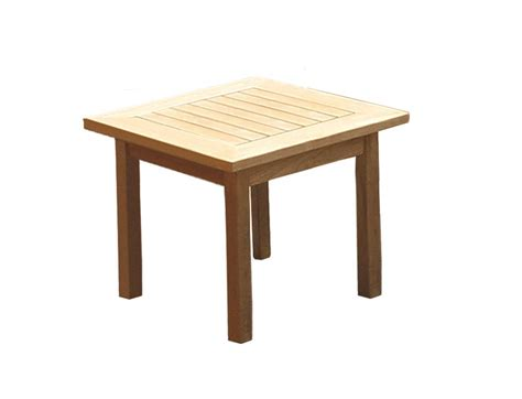 royal teak collection miami 20 square side table miast