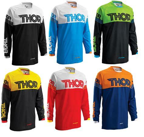 Baju Sepeda Thor Motocross Jersey Motor Cross thor mens youth phase hyperion dirt bike jersey atv mx gear road ebay