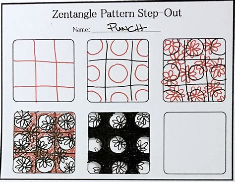 zentangle pattern step outs new tutorial how to draw the zentangle pattern punch