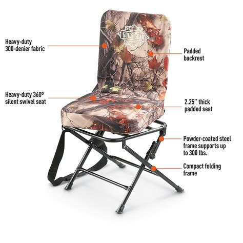 guide gear camo swivel chair 593912 stools