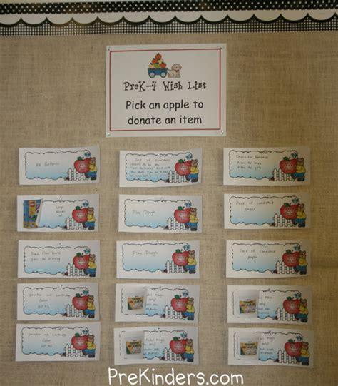 Wish List Ideas - wish list prekinders