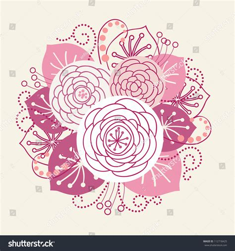 Vector Backgrounds With Roses For Invitations vector background bouquet blooming roses stylized stock