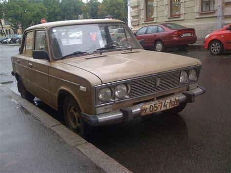 Russian Lada Car Russian Car The Lada Leningrad St Petersburg