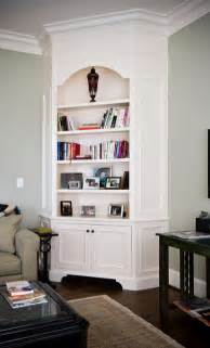 Painted corner cabinet living room charleston by hostetler