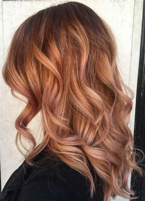 rose gold hair dye dark hair 65 rose gold hair color ideas instagram s latest trend